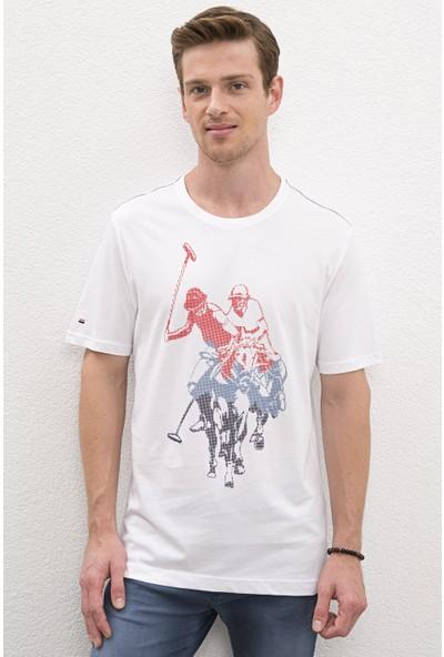 U.S. Polo Assn. Erkek T-Shirt 50219128-VR013