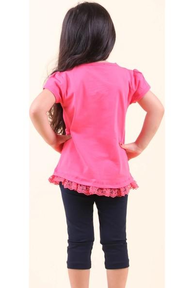 Breeze Kız Çocuk Kapri Taytlı Takım