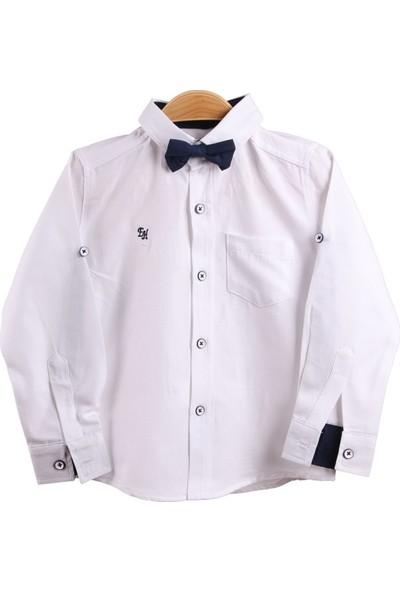 E&H Erkek Çocuk Papyonlu Gömlek