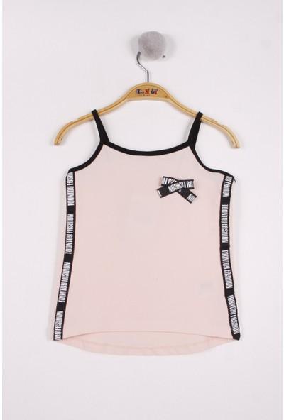Toontoy Kız Çocuk Yanları Şeritli Atlet