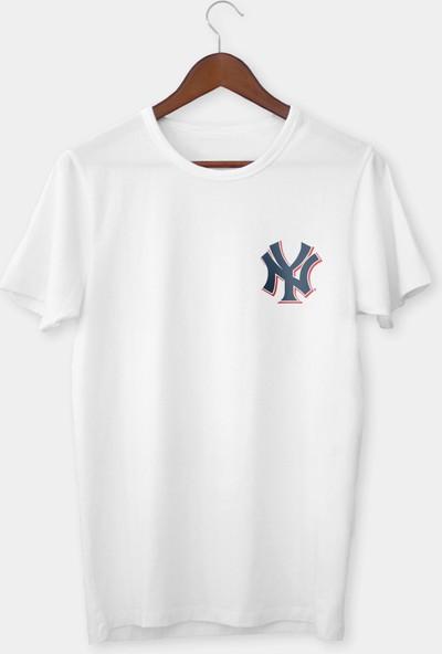 Vectorwear New York Çocuk Tişört Beyaz