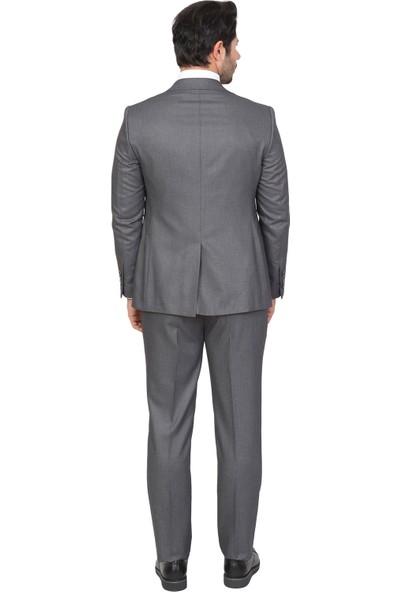 White Stone Takım Elbise Regular Fit Desenli 6 Drop