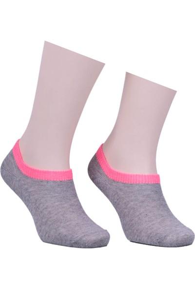 Sahab Bileği Renkli Soket Çorap 1540 | Pembe