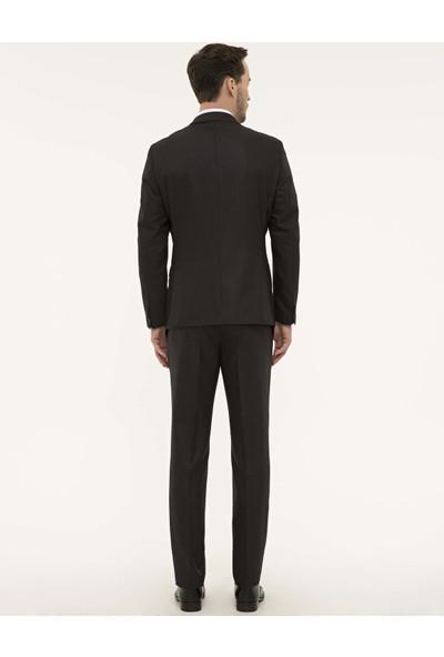 Pierre Cardin Füme Slim Fit Takım Elbise 50229797-VR058