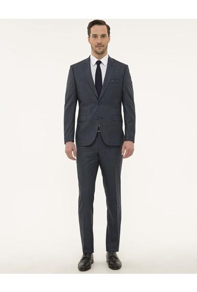 Pierre Cardin Lacivert Slim Fit Takım Elbise 50229798-VR033