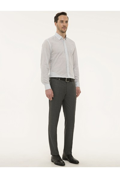 Pierre Cardin Füme Slim Fit Pantolon 50229763-VR058