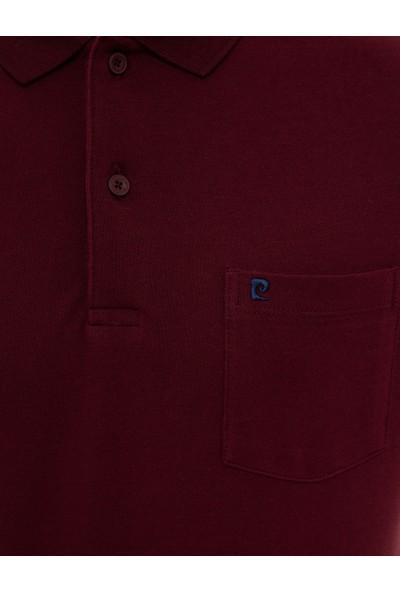 Pierre Cardin Erkek Bordo Regular Fit T-Shirt 50225513-VR014