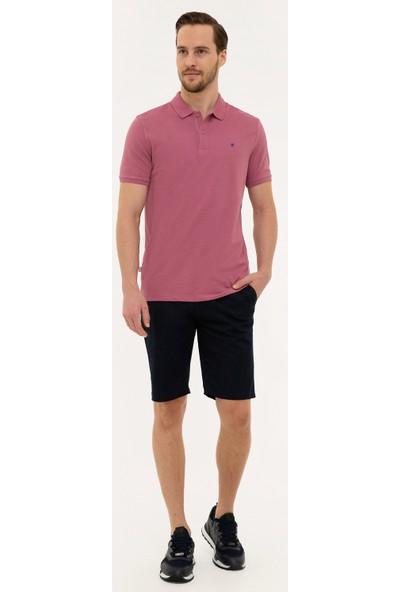 Pierre Cardin Erkek Gül Kurusu Slim Fit T-Shirt 50225515-VR026