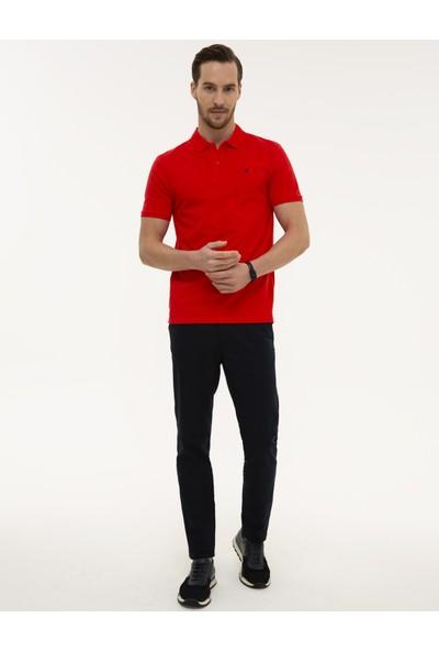 Pierre Cardin Erkek Nar Çiçeği Slim Fit T-Shirt 50225515-VR039