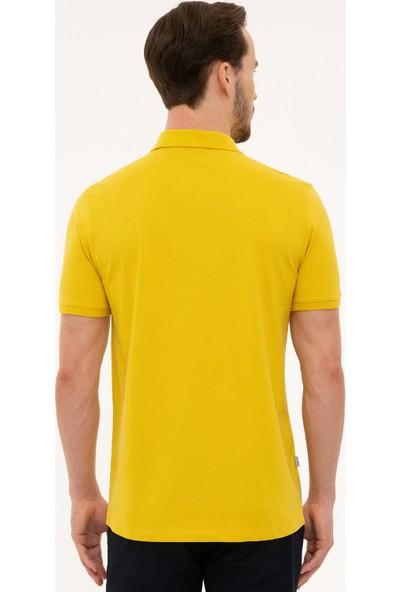 Pierre Cardin Erkek Safran Slim Fit T-Shirt 50225515-VR043