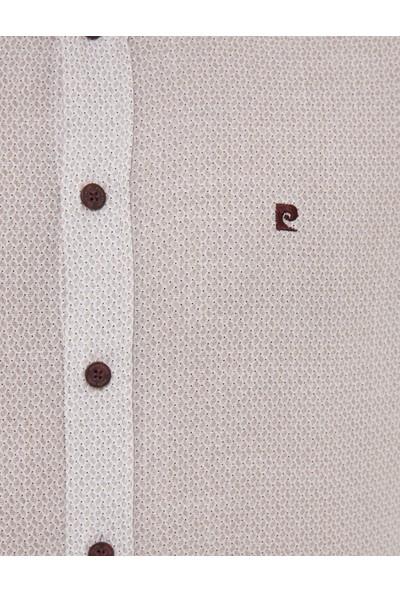 Pierre Cardin Erkek Bordo Slim Fit Gömlek 50227324-VR014