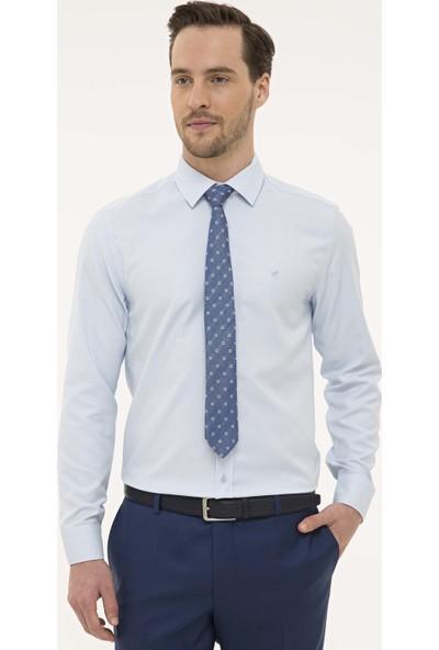 Pierre Cardin Erkek Açık Mavi Slim Fit Gömlek 50227370-VR003