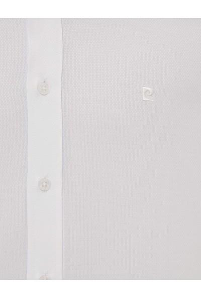 Pierre Cardin Erkek Beyaz Slim Fit Gömlek 50227370-VR013