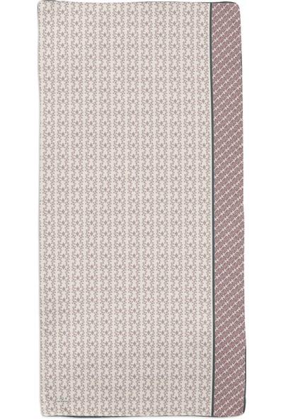 Lanjeron Etnik Çıtır Desenli Şal Mint 401.99200134