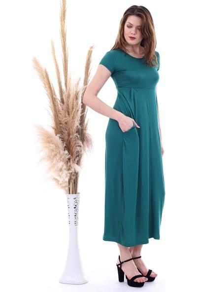 Cotton Mood 8222251 Viskon Cepli Salash Şalvar Elbise Benetton