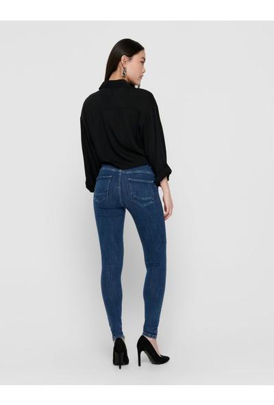 Only 15169893 Onlpower Lıfe Mid Pushup Sk Rea3223 Noos Only Kadın Denim Pantolon 20Y