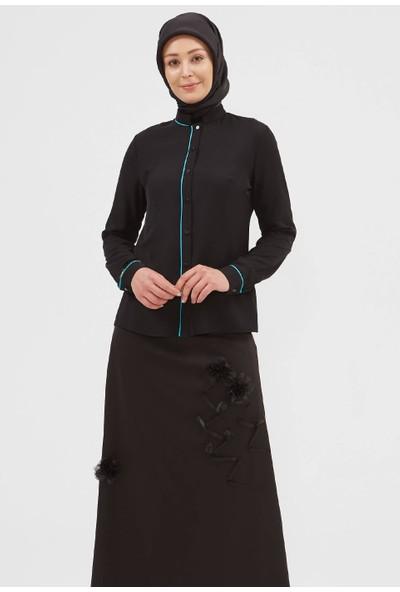 Setrms Klasik Biyeli Bluz