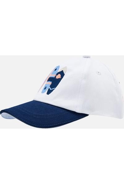 Mayoral Beyaz Kasket Şapka