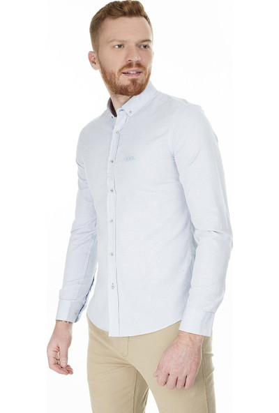 Lee Cooper Slim Fit Gömlek Erkek Gömlek 202 Lcm 241010 5131