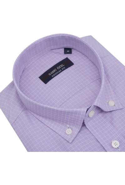Sabri Özel Kısa Kollu Gömlek Erkek Gömlek 0817029