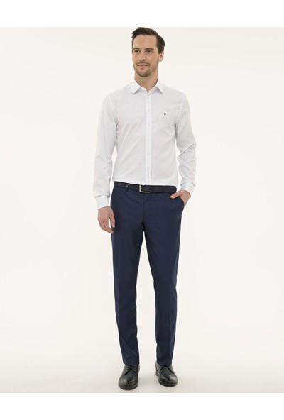 Pierre Cardin Erkek Detaylı Slim Fit Gömlek 50227390-VR033
