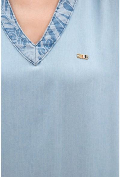 U.S. Polo Assn. Kadın Denim Elbise 50219044-DN0022