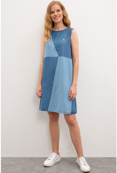 U.S. Polo Assn. Kadın Denim Elbise 50219053-DN0021