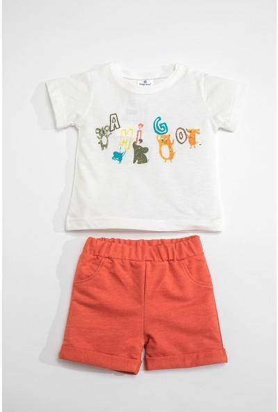 Luggi Erkek Bebek Şort Takım Lg-5120-4