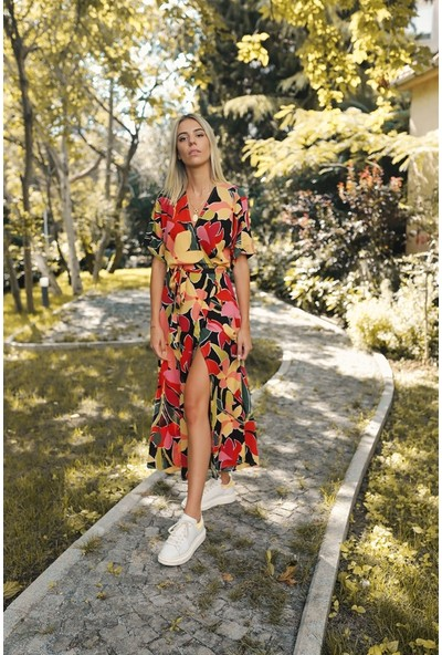 Simple Stories Midi Anvelop Elbise