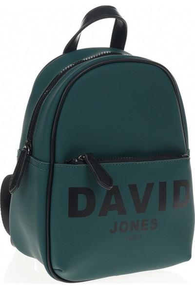 David Jones Kadın Sırt Çantası Koyu Yeşil