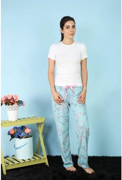 Akbeniz Kadın Tek Alt Pijama 27154
