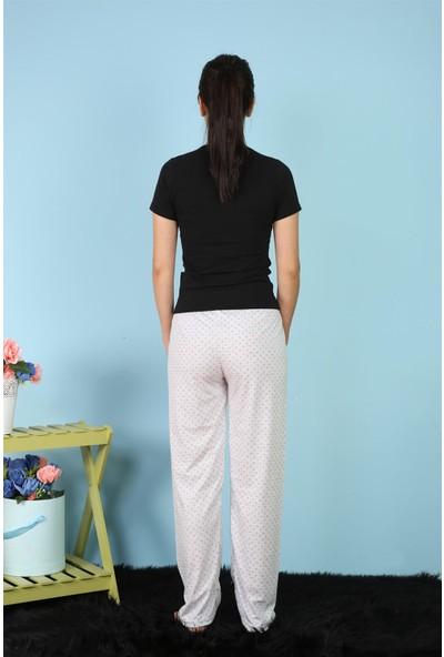 Akbeniz Kadın Tek Alt Pijama 27155