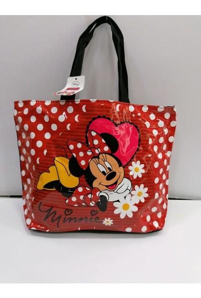 Hakan Çanta Minnie Mouse Plaj Cantası