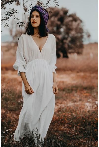 Blanca Bırkın Costarıca Kumaş Elbise