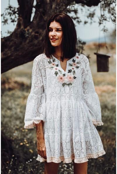 Blanca Italy Tasarım Dantel Elbise