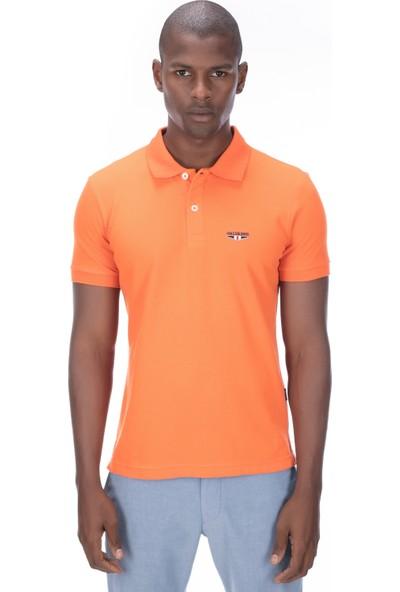 Galvanni Erkek Oranj T-Shirt - Logs