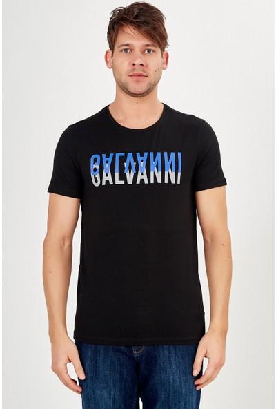 Galvanni Erkek Siyah T-Shirt - Bonayo