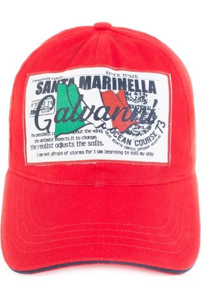 Galvanni Erkek Kırmızı Şapka - Ese