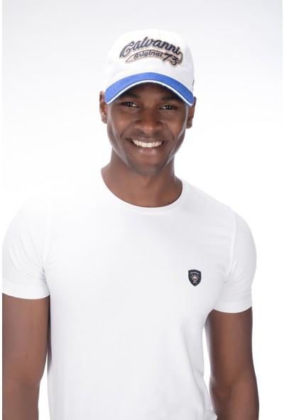 Galvanni Erkek Beyaz Şapka - Port