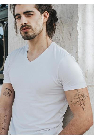 Neo Flash Tattoo Be Brave Geçici Dövme