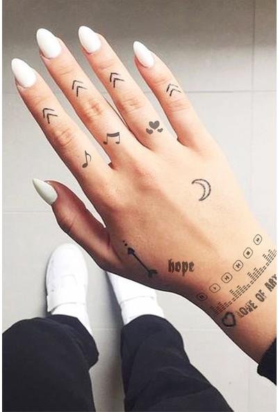 Neo Flash Tattoo Friends Geçici Dövme
