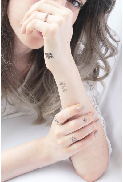 Neo Flash Tattoo Elephant Geçici Dövme