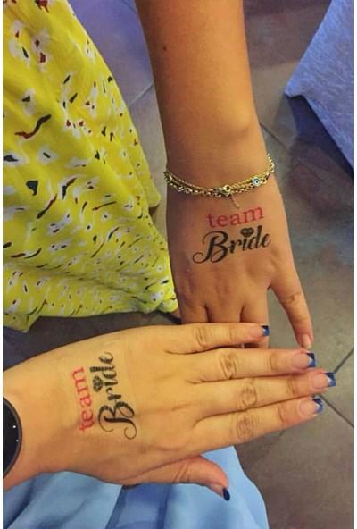 Neo Flash Tattoo Team Bride-Nedime Geçici Dövme Pembe