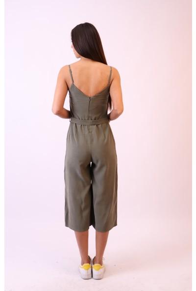 Aclassics Haki Modal Pantolon Salopet