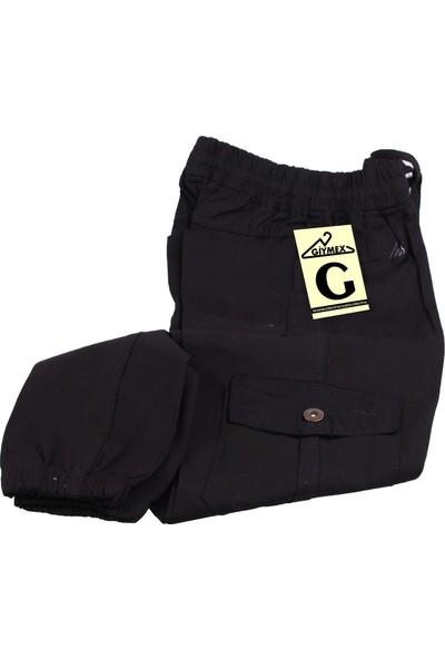 Giymex Giymex Çocuk Eşofman Kargo Cep Siyah