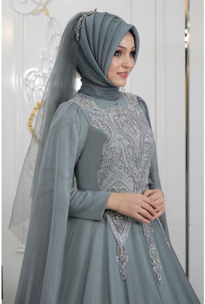 Pınar Şems Hazar Abiye Mint