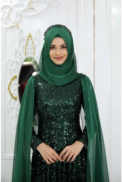 Pınar Şems Yeni Hüma Abiye Zümrüt