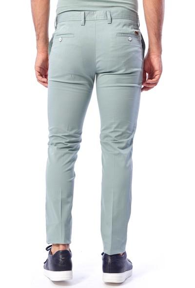 Dufy Mınt Büyük Beden Düz Erkek Pantolon - Battal