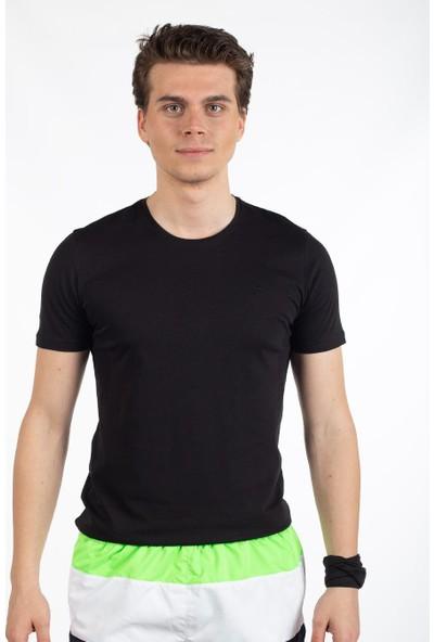 Bysorex V Yaka T-Shirt- Siyah