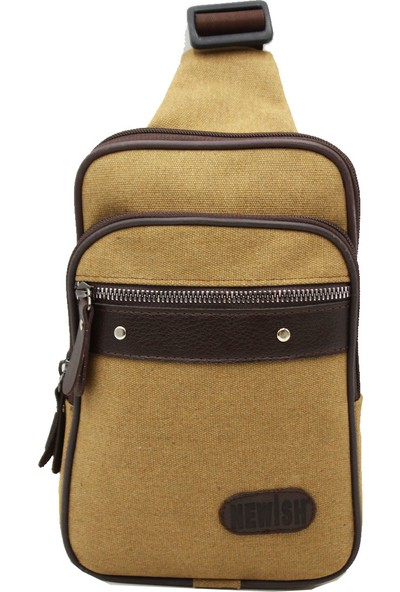 Newish Polo N1010 Body Bag Erkek Göğüs Çantası Vizon